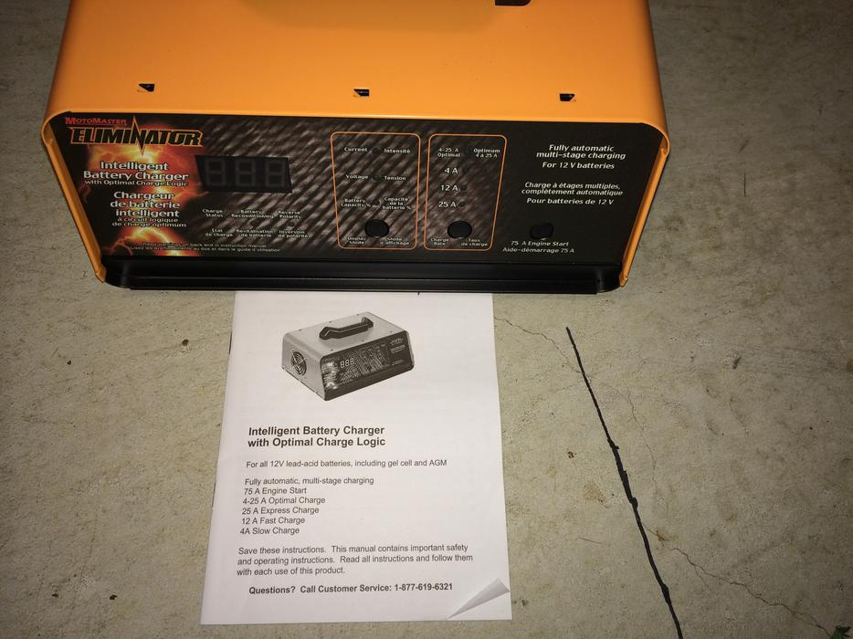 motomaster eliminator intelligent battery 11-1515-4 manual