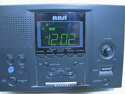 ns blue led clock radio with digital tuner manual