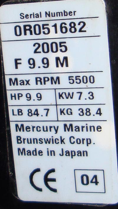 2003 9.9 mercury outboard manual