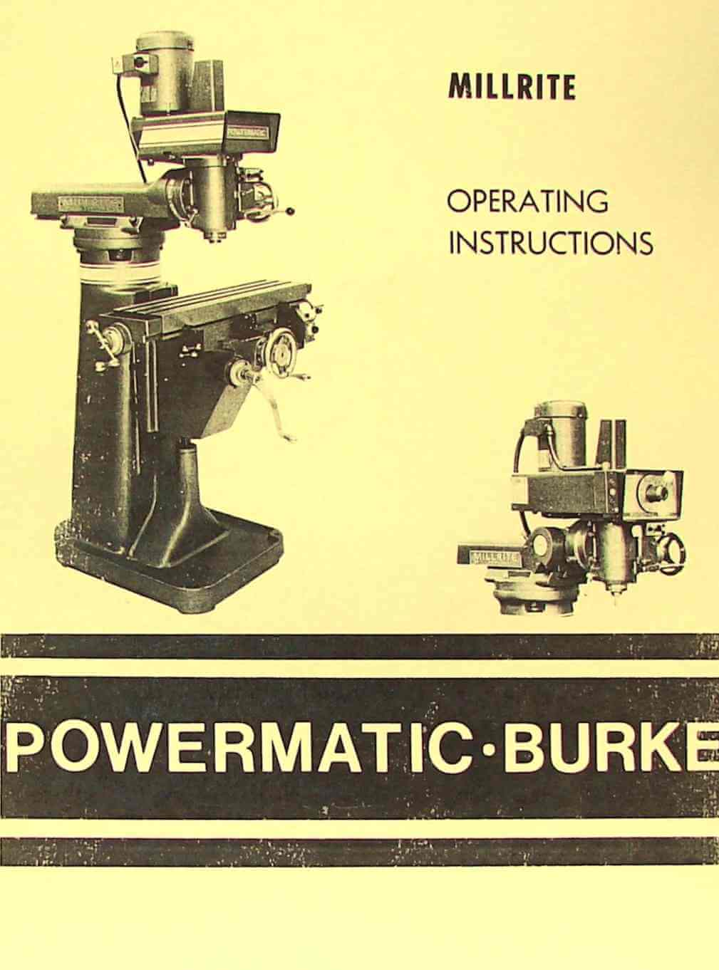 archdale vertical milling machine manual