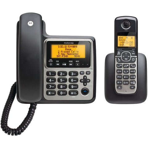motorola dect 6.0 digital cordless phone with answering machine manual