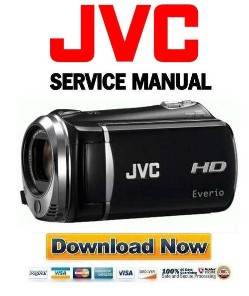 jvc everio gz hm440au manual