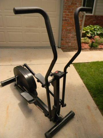 elliptical how to reistance manually