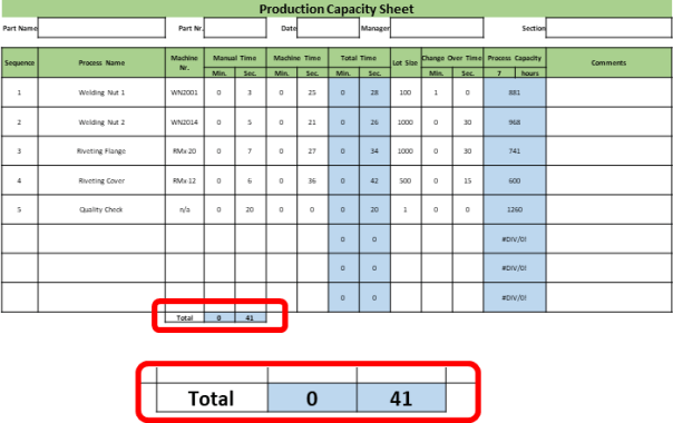 excel table manual calculate slow