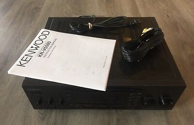 kenwood home theater system vr-407 manual
