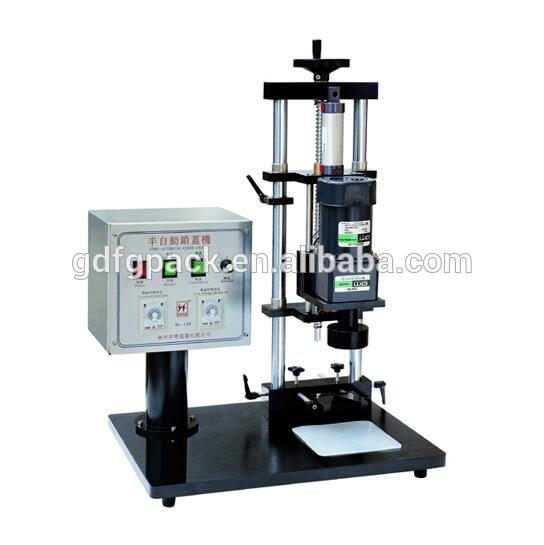 manual pet bottle capping machine