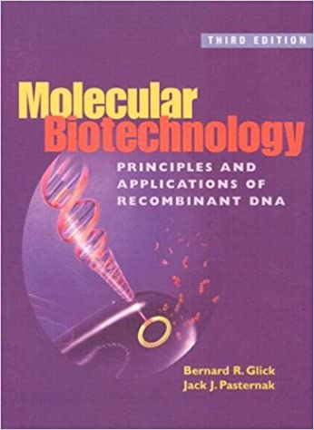molecular biotechnology glick 4th edition solutions manual