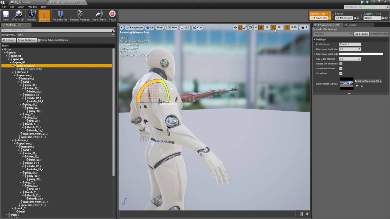 ue4 how to manually attach component